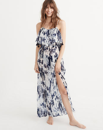 ANF Sheer Maxi Cover-Up