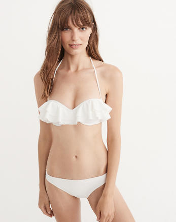 ANF Ruffle Push-Up Top
