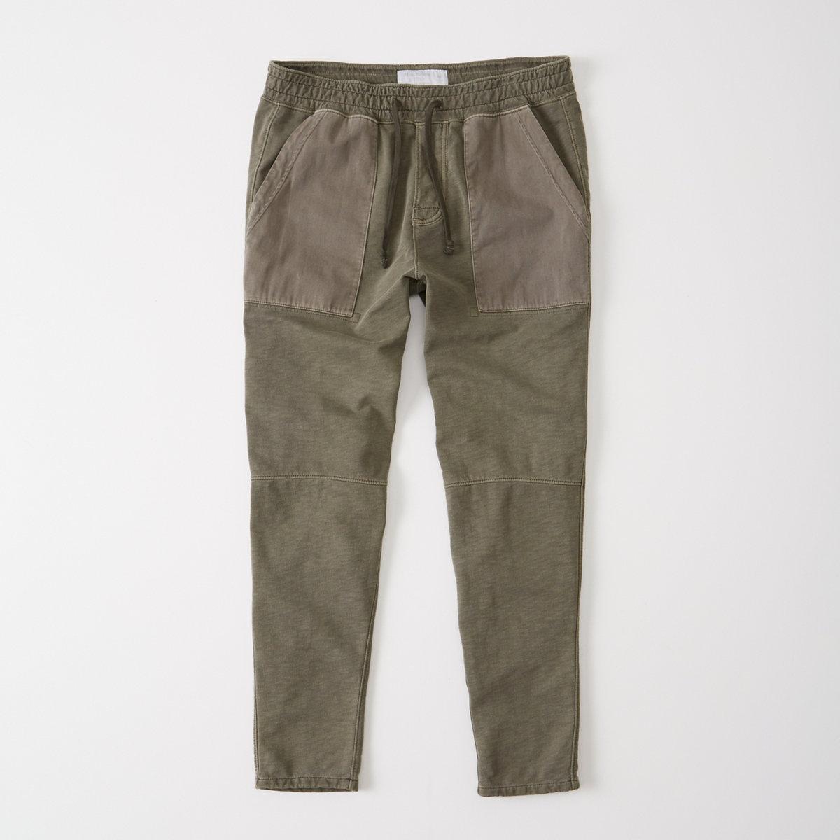 Fleece Tapered Pants