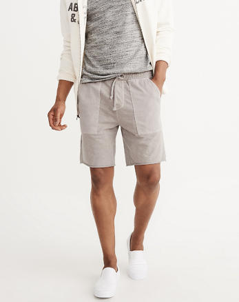 ANF Washed Fleece Shorts
