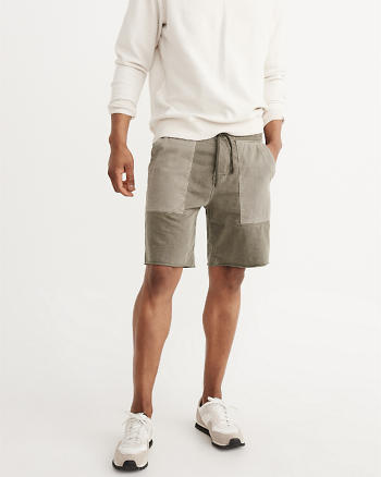 ANF Washed Fleece Shorts