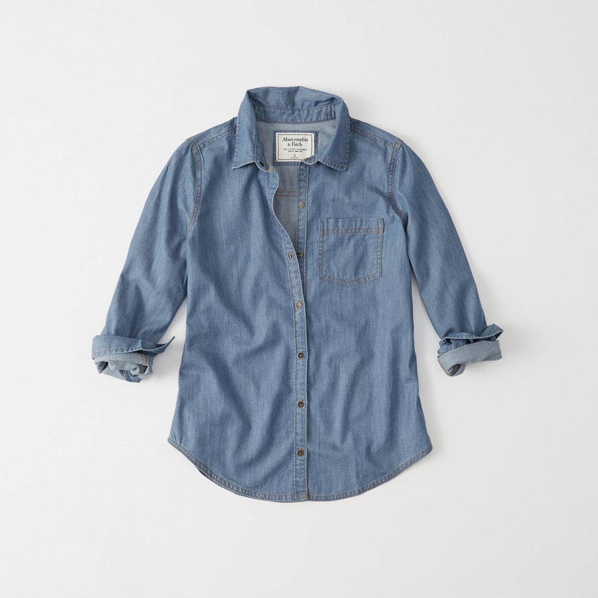 Classic Denim Shirt