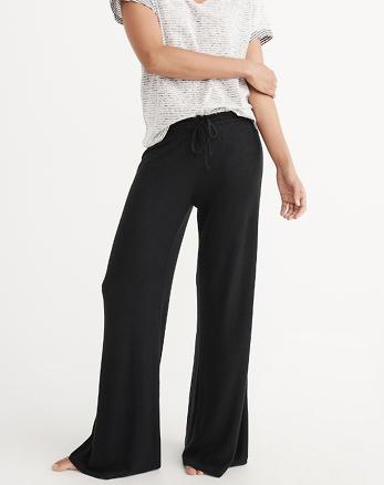 ANF Cozy Wide Leg Pants