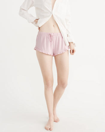 ANF Ruffle Sleep Shorts