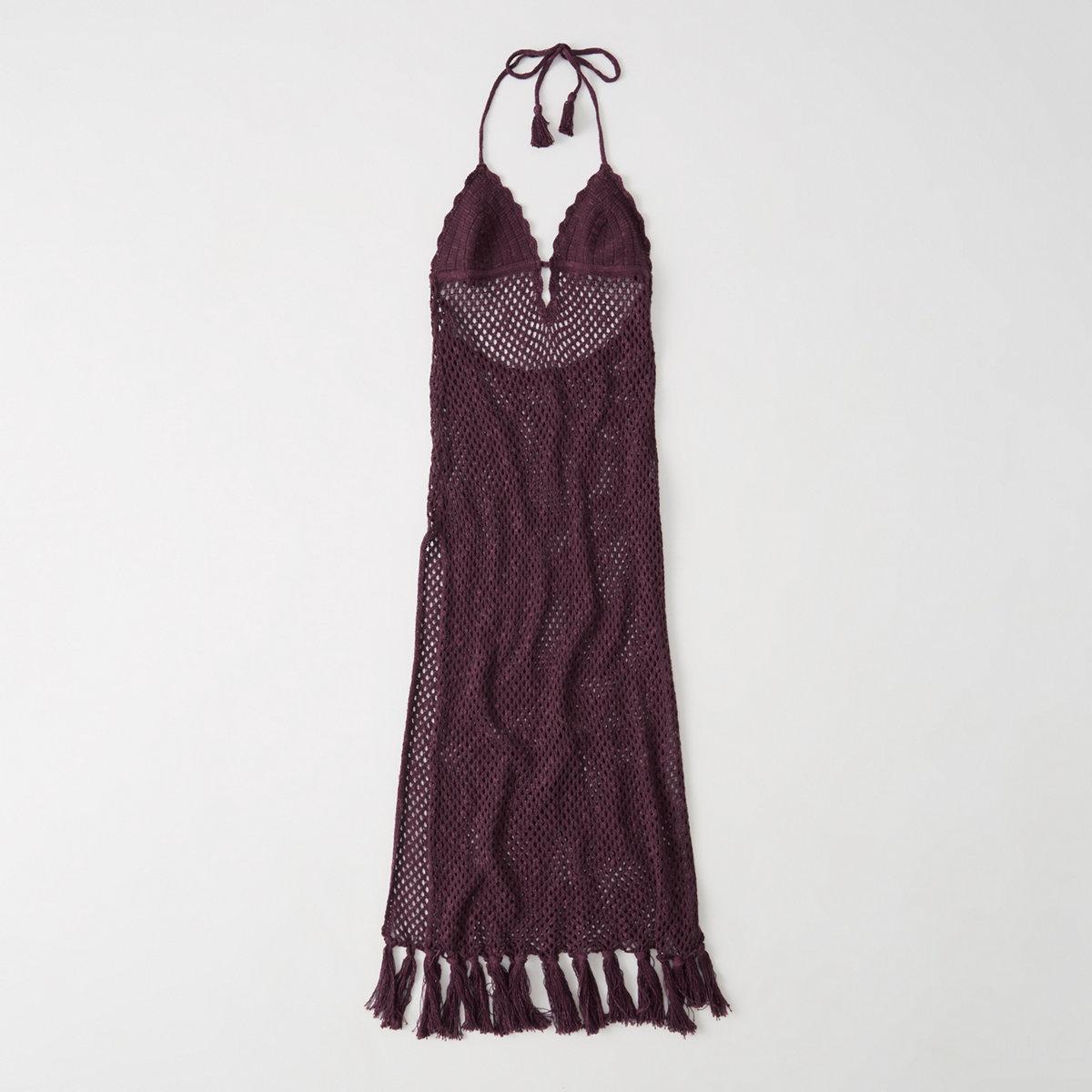 Crochet Maxi Cover-Up