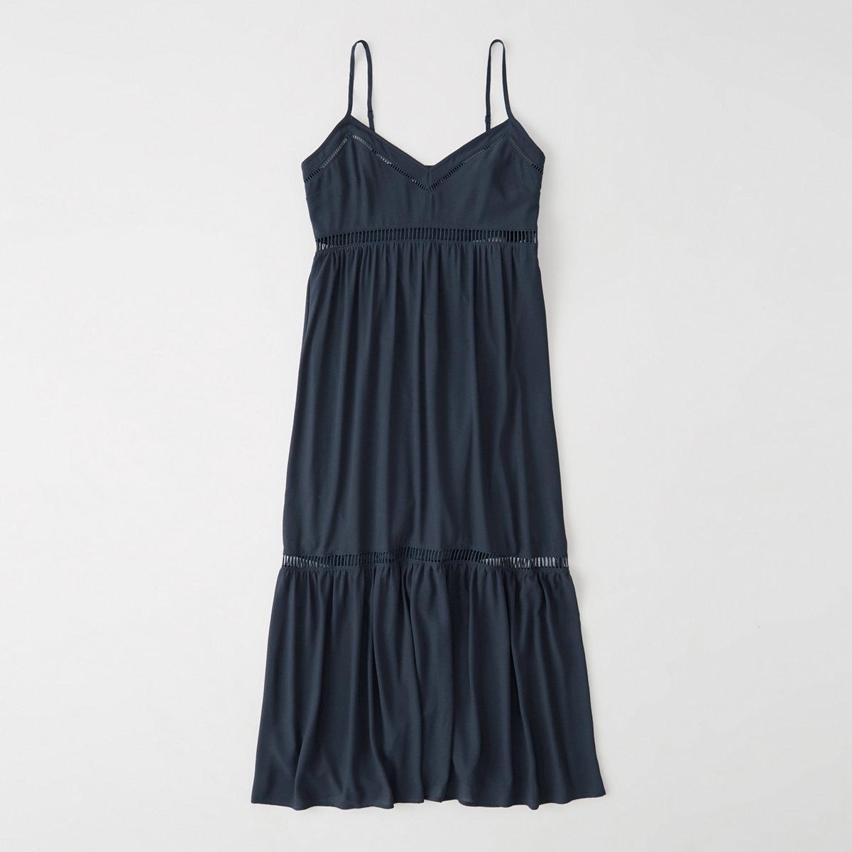 Ladder Trim Maxi Dress