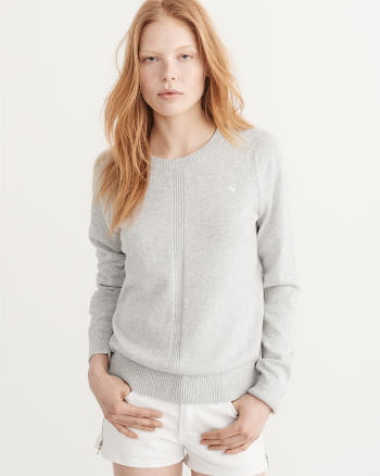 ANF Raglan Crew Sweater