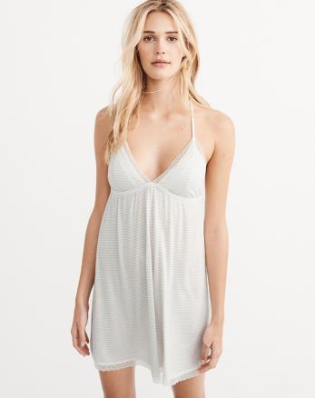 ANF Lace Trim Dress