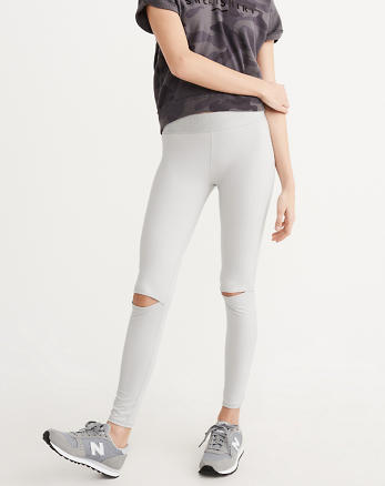 ANF Active Slit Knee Leggings