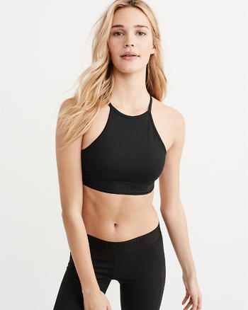 Active High Neck Bra