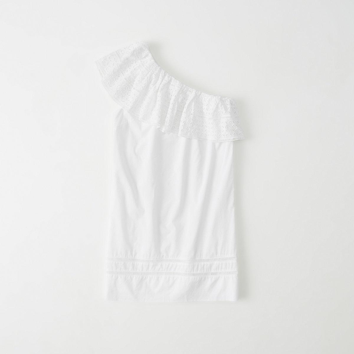 One-Shoulder Shift Dress