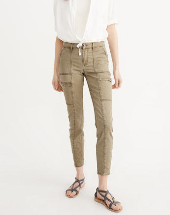 ANF Military Super Skinny Jeans