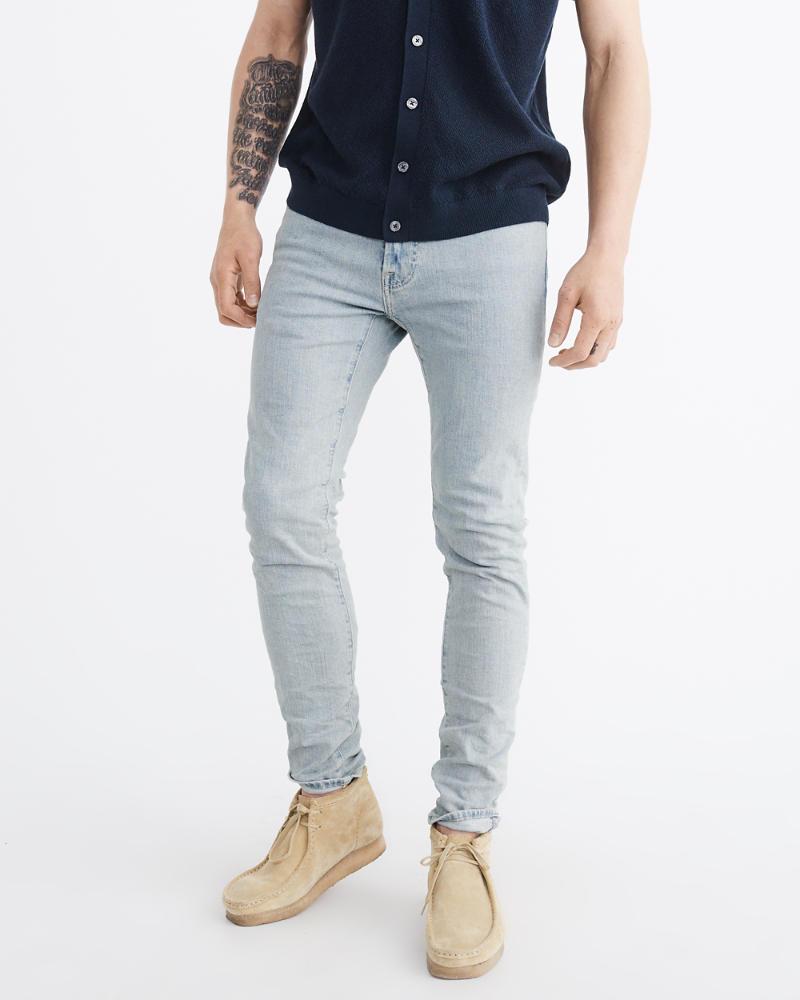 mens super slim jeans mens bottoms. Black Bedroom Furniture Sets. Home Design Ideas