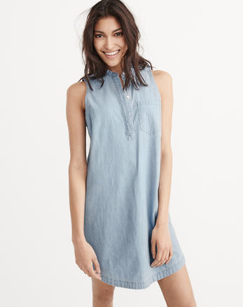 ANF Mandarin Shirtdress