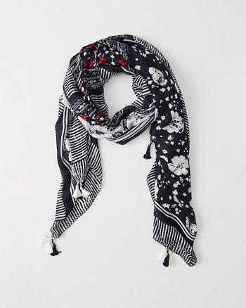 ANF Mixed Pattern Scarf
