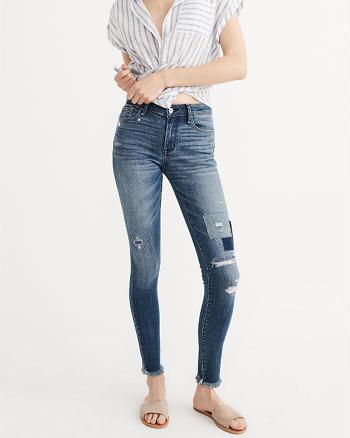 ANF Tonal Super Skinny Jeans
