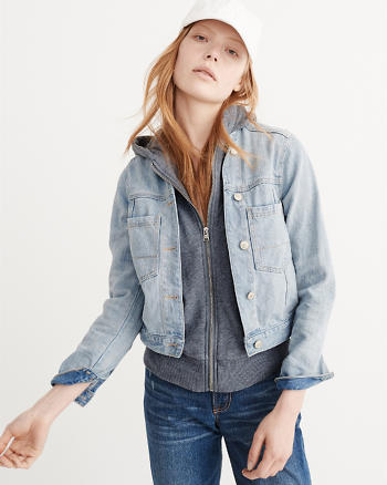 ANF Denim Twofer Jacket
