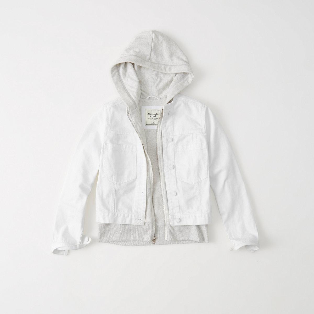 Denim Twofer Jacket