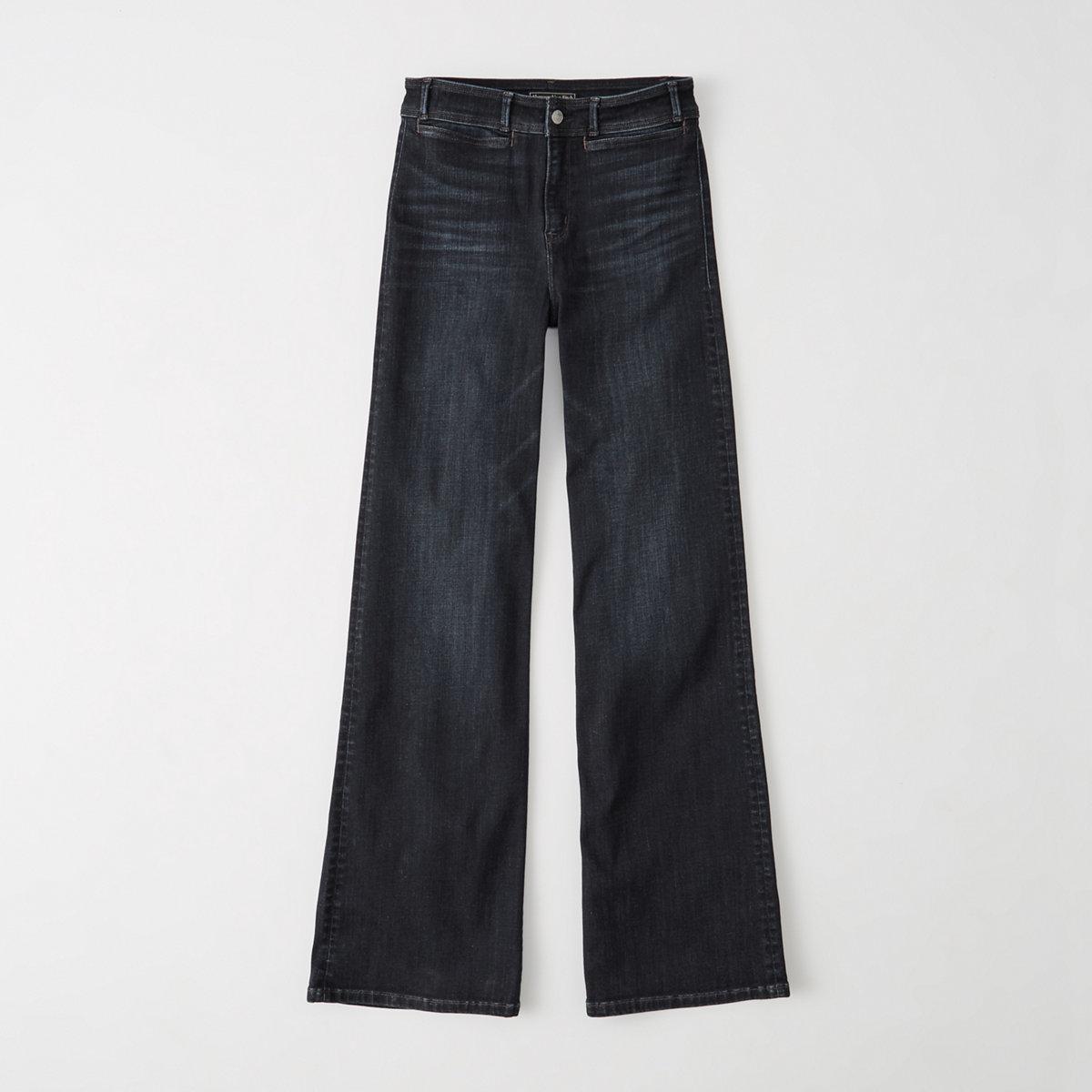 High Rise Wide Leg Jeans