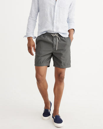 ANF Pull-On Twill Shorts