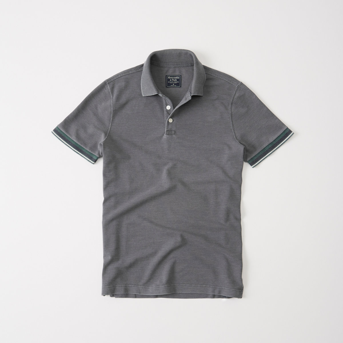 Burnout Tipped Cuff Polo