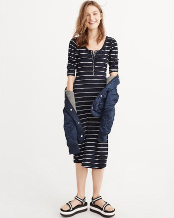 ANF Henley Midi Dress