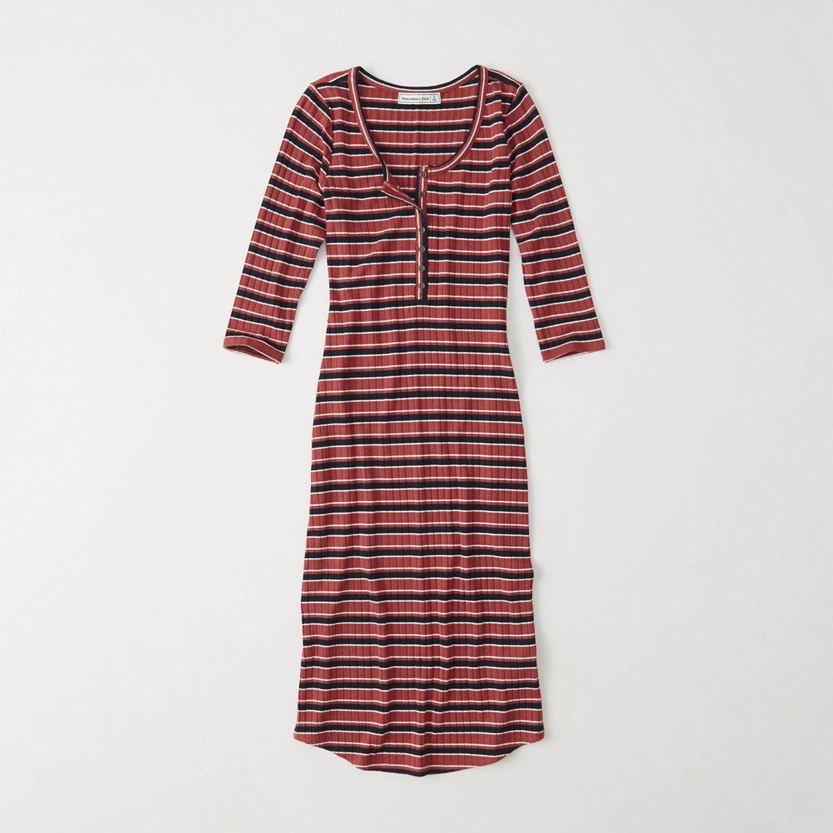 Henley Midi Dress