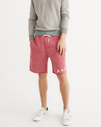ANF Burnout Fleece Shorts