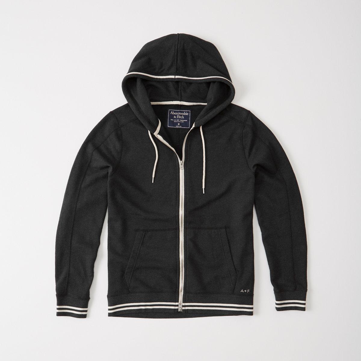 Lightweight Full-Zip Hoodie
