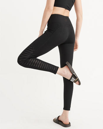 ANF Active High Rise Lattice Leggings