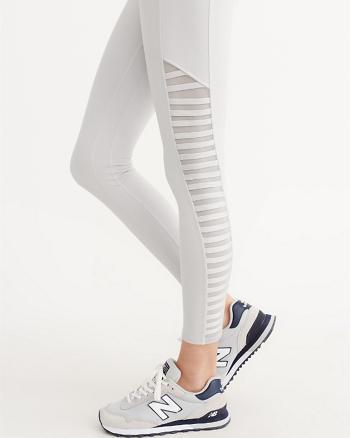 ANF Active High Rise Lattice Leggings