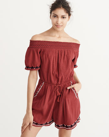 ANF Off-The-Shoulder Romper