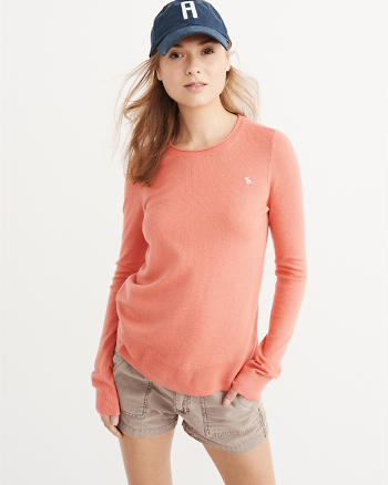 ANF Cashmere Silk Crew Sweater