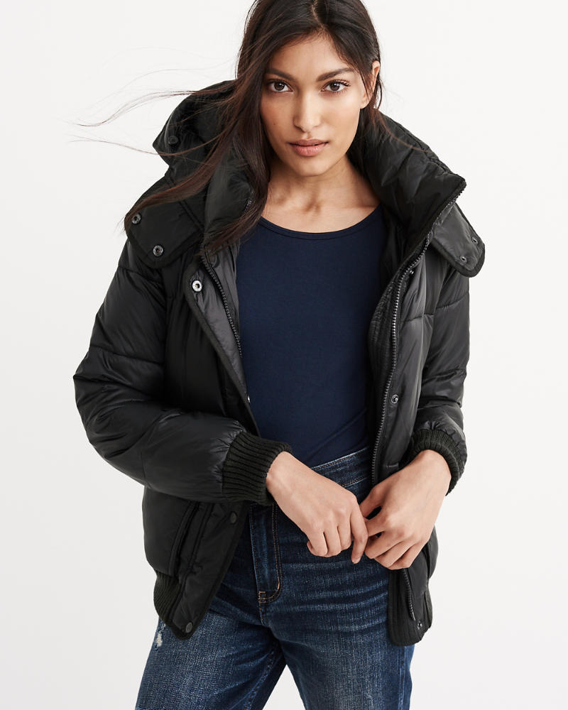 product image ... - Womens Puffer Jacket Womens Sale Abercrombie.com