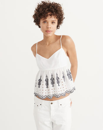 ANF Embroidered Cami