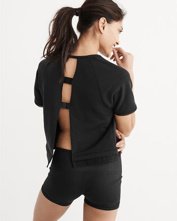 ANF Active Boxy Crew Top