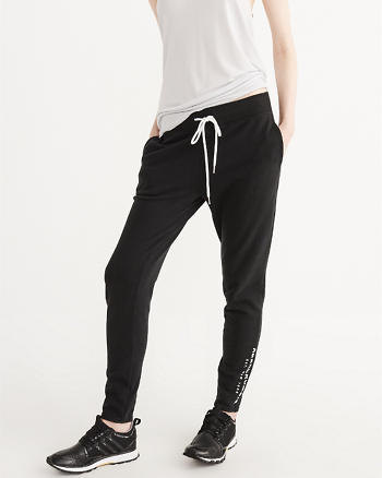 ANF Logo Tapered Sweatpants