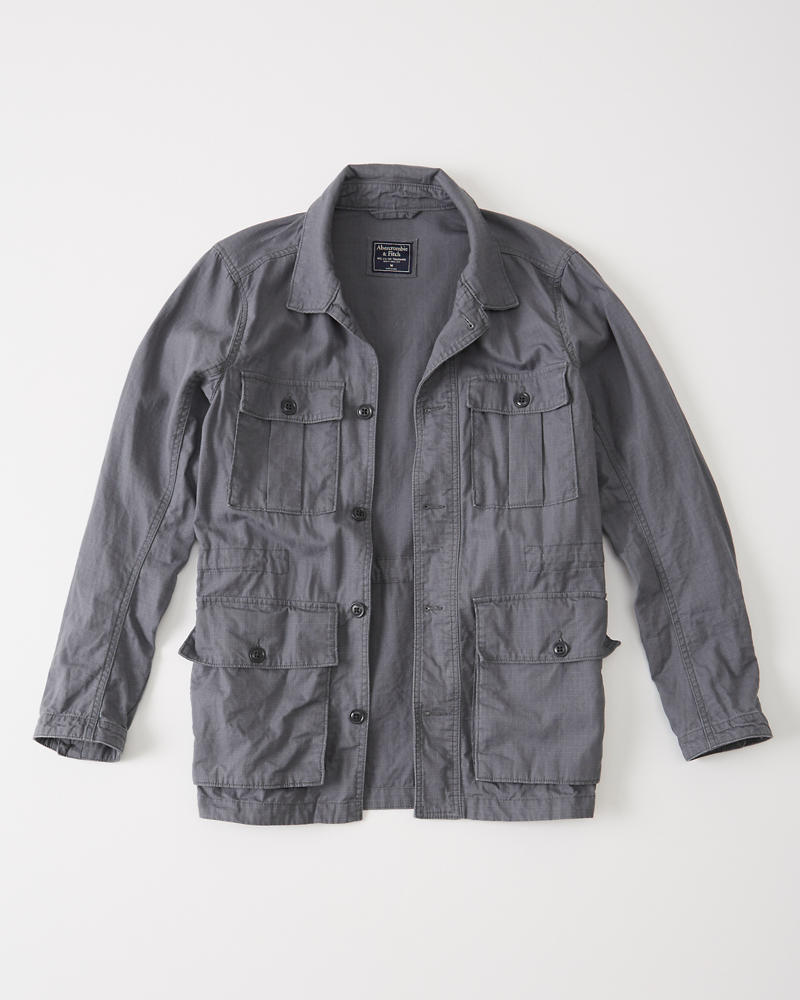 Mens Safari Jacket Mens Sale Abercrombie Com