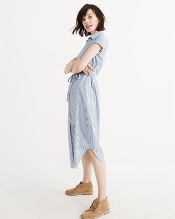 ANF Maxi Shirtdress
