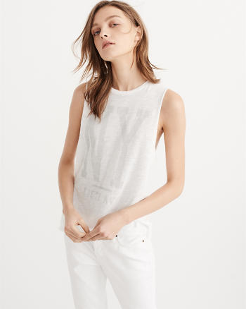 ANF Slouchy Muscle Tee