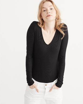 ANF Long Sleeve Bodysuit