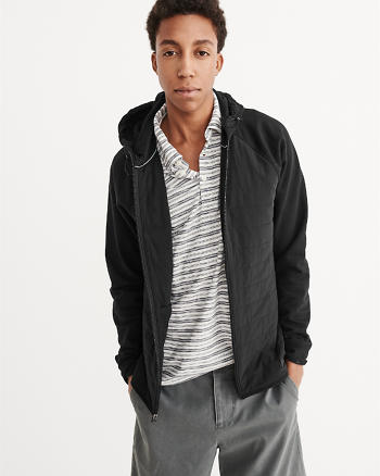ANF Sport Quilted Nylon Full-Zip