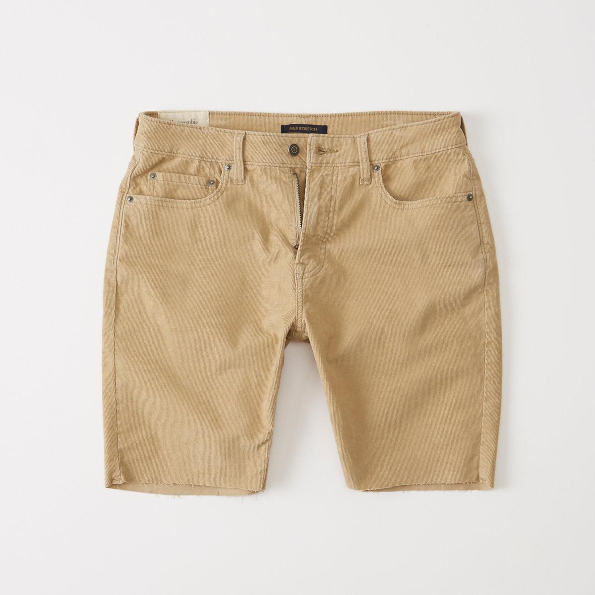 Cutoff Corduroy Shorts