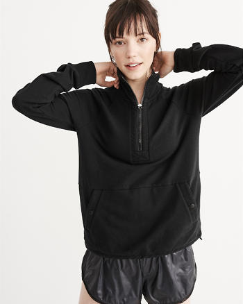 ANF Active Half-Zip Sweatshirt