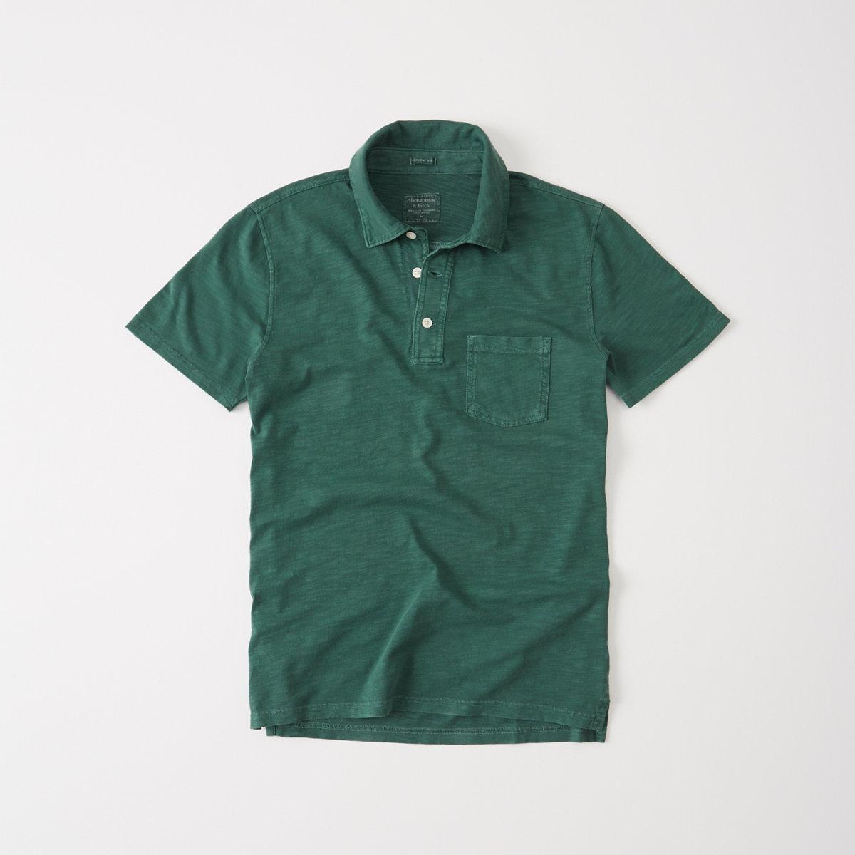 Jersey Pocket Polo