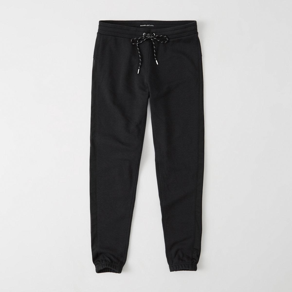 Active Mesh Banded Sweatpants