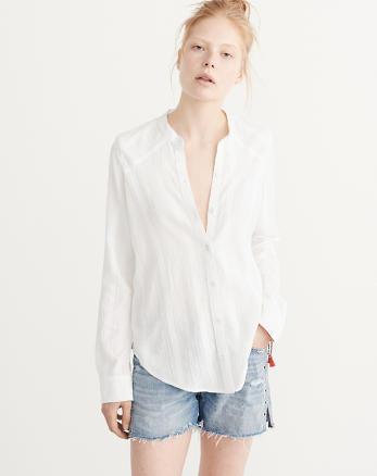 ANF Classic Cotton Shirt