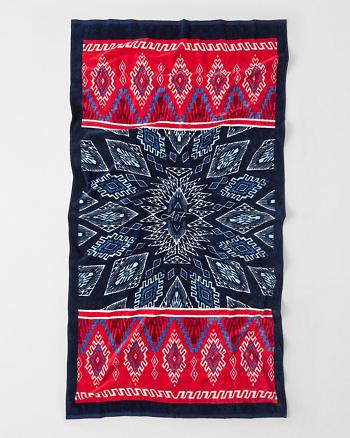 ANF Pattern Beach Towel