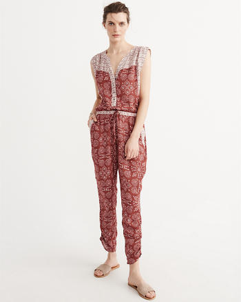 ANF Patterned Jumpsuit