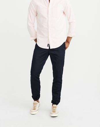 ANF Linen Blend Suit Pants